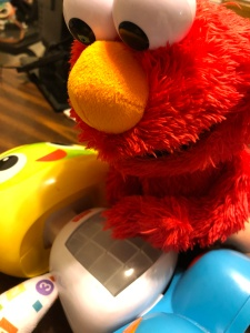 Elmo and BeatBo