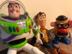 File photo from the set of Toy Story 2